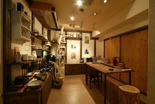 ニシナ屋珈琲の待合室